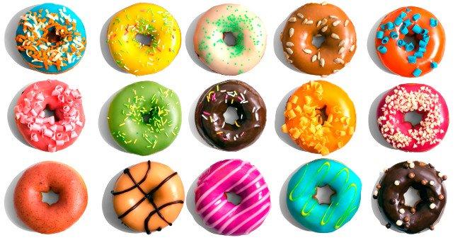 Khi nhắc đến món ăn đặc trưng trong ẩm thực Mỹ, đừng quên bánh Donut