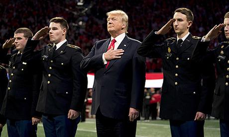 Quốc ca Mỹ được hát trong các sự kiện nước Mỹ