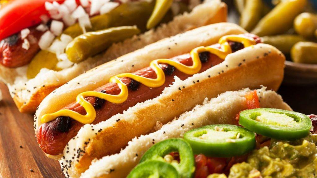 Hotdog cực kì nổi tiếng khi nhắc đến ẩm thực Mỹ