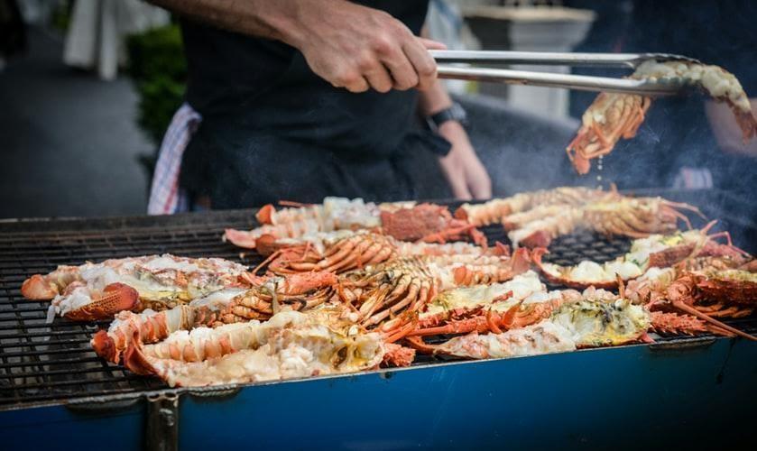 Những món hải sản tươi ngon nhất.