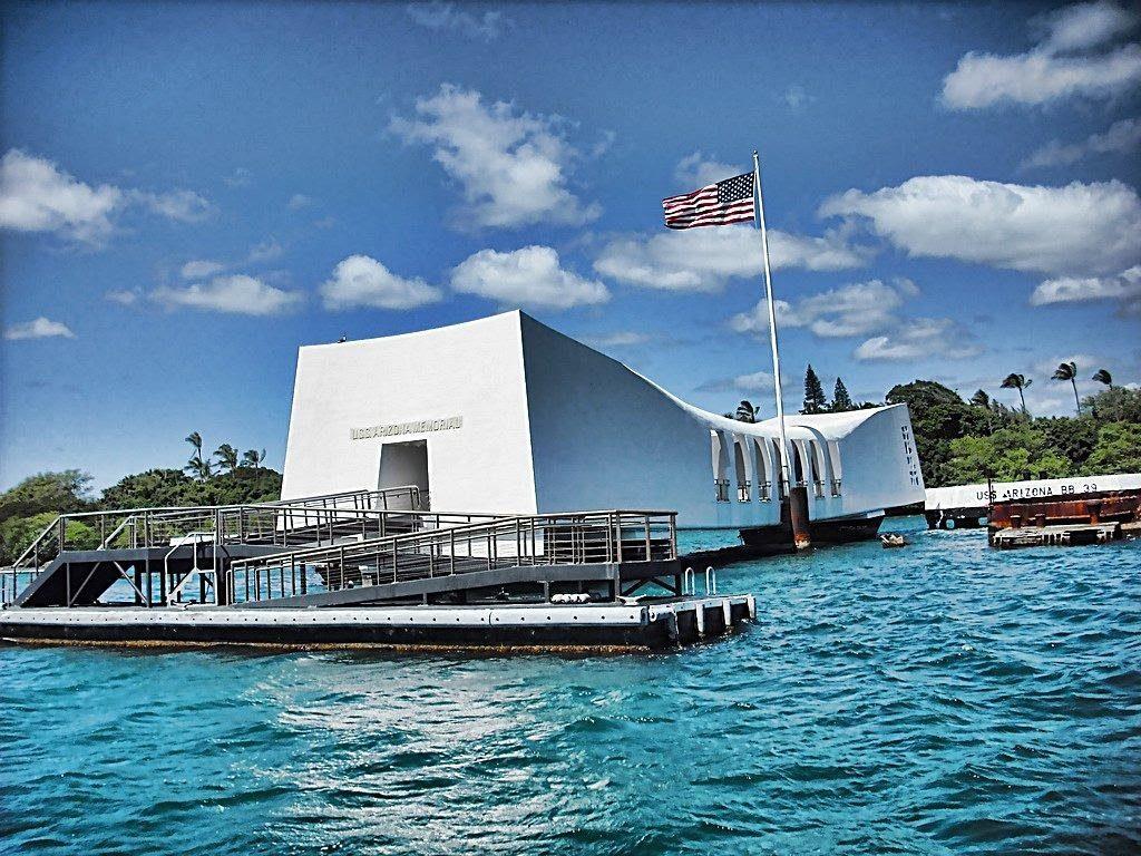Đài tưởng niệm Arizona USS.